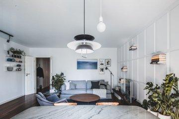 minimalistyczne wnętrze w Warszawie