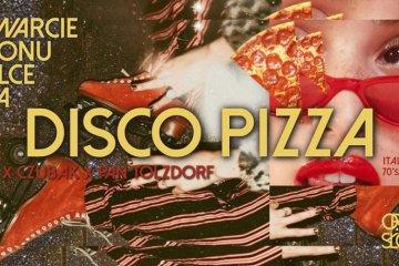 plakat dolce vita disco pizza