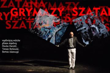 """""""Grymazy Szatana"""" - performatywny pokaz malarstwa inspirowanego teatrem"""
